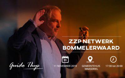 11 november: welkom in de 21ste eeuw. ZZP netwerk Bommelerwaard